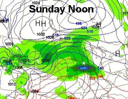 18Z NAM Rainfall Sunday