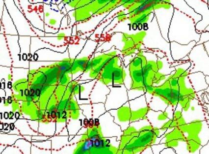 NAM Rain Thursday May 12
